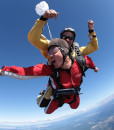 Student trips skydive taupo