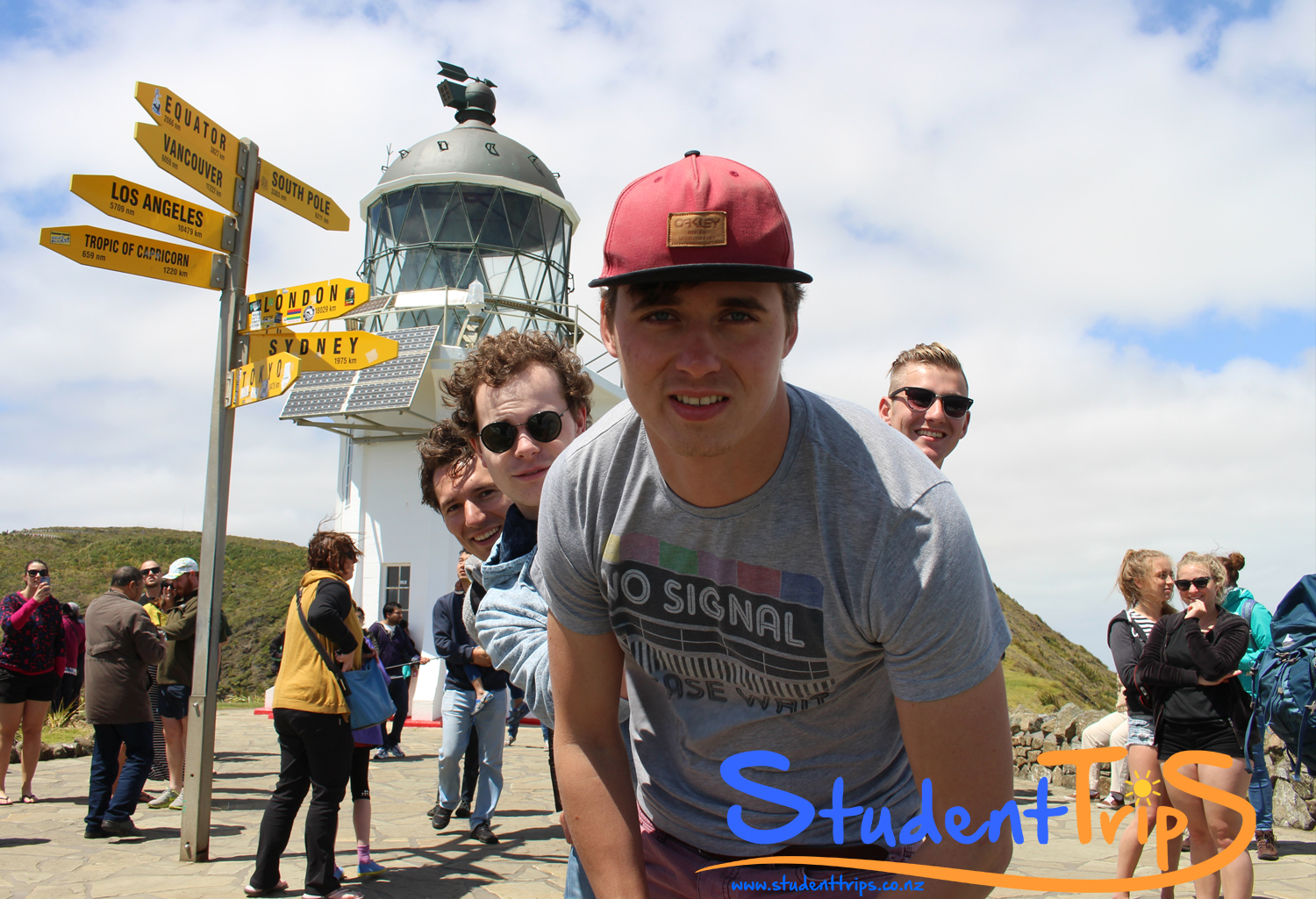 Studenttrips boy band